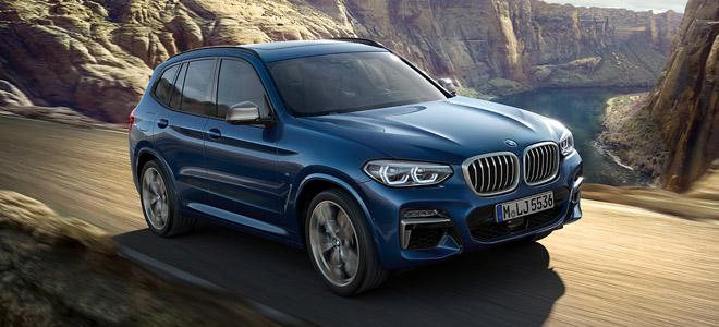 2018 BMW X3 model