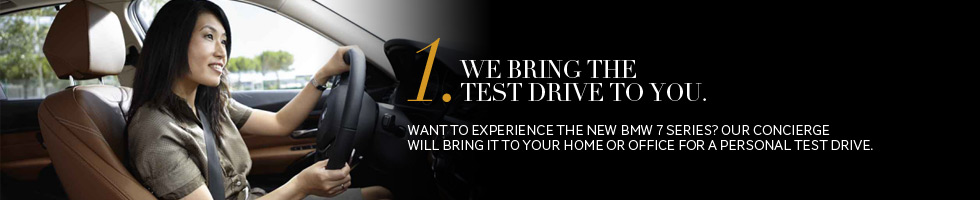 We bring the test drive to you