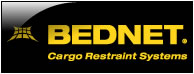 BEDNET. Cargo Restraint Systems at Pro Truck in Edmonton, AB