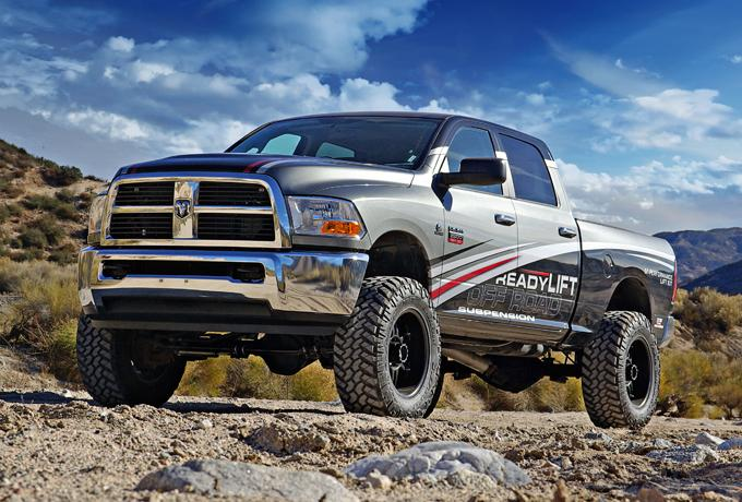 Dodge Ram 2500 with readyLift Lift Kits at Pro Truck in Edmonton, AB