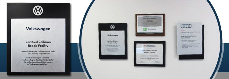 Certified Collision Repair Facility