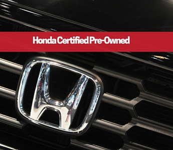 Honda certified preowned