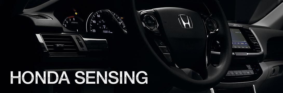 Honda sensing technology