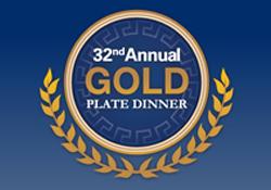 Gold Plate Dinner