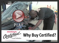 Why Buy Honda Certified