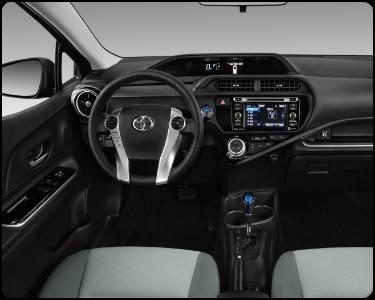 2018 Toyota Prius c Interior Cabin Dashboard