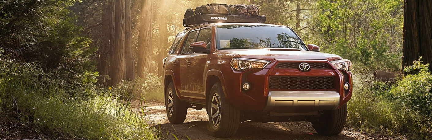 2018 Toyota 4Runner Exterior Front Profile