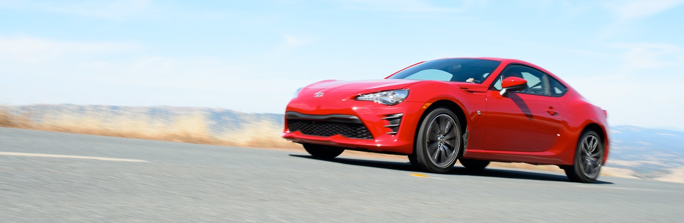 2018 Toyota 86 Red Exterior Driver Side Front Profile