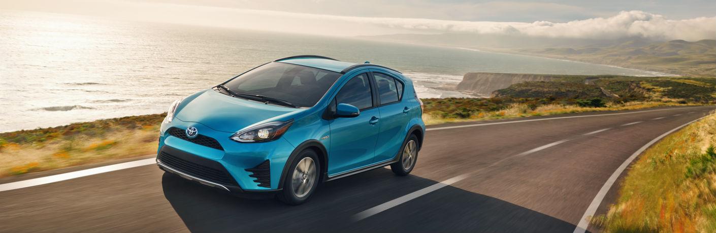 2018 Toyota Prius c Exterior Front Profile