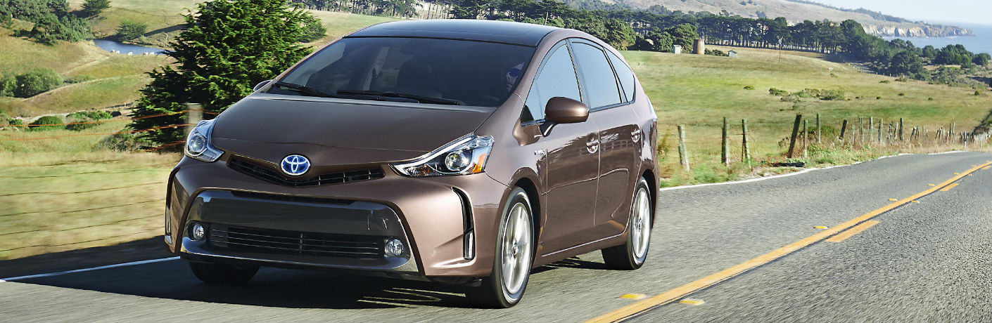 2018 Toyota Prius v Exterior Driver Side Front