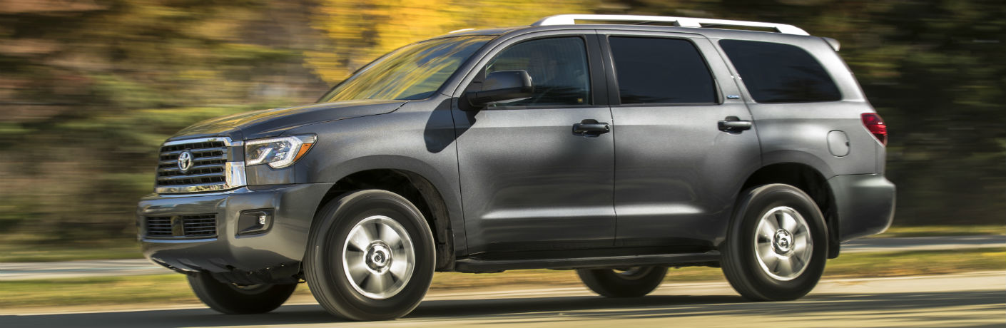 2018 Toyota Sequoia Exterior Driver Side Profile
