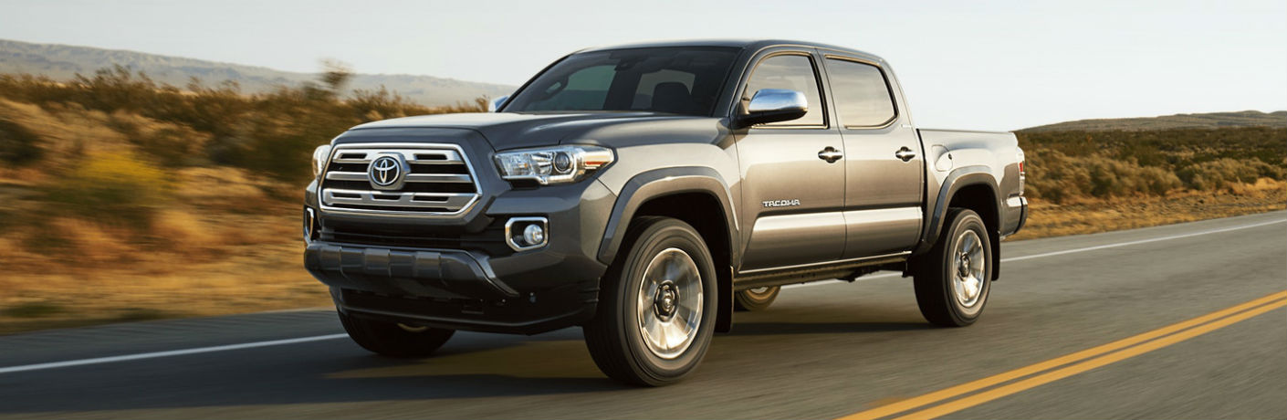 2018 Toyota Tacoma Exterior Driver Side Front
