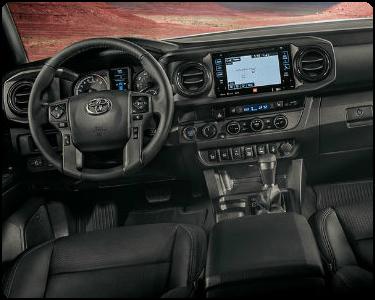2018 Toyota Tacoma Interior Cabin Dashboard