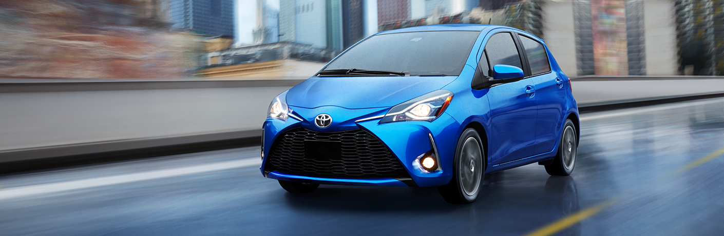 2018 Toyota Yaris Hatchback Exterior Front Profile