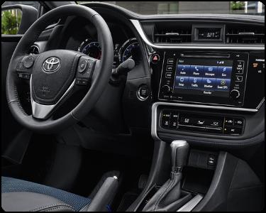 2018 Toyota Corolla Interior Cabin Dashboard