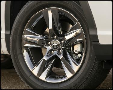 2018 Toyota Highlander Hybrid Exterior Wheel Design