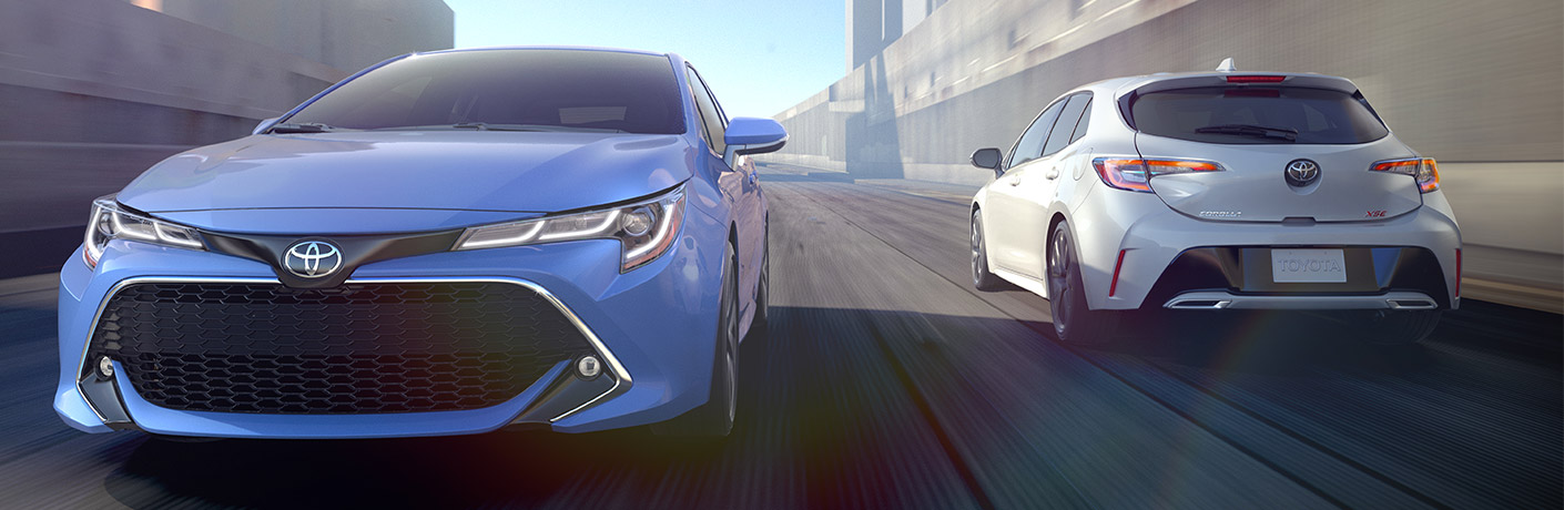 2019 Toyota Corolla Hatchback Exterior Front and Rear Fascias