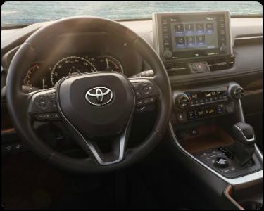 2019 Toyota RAV4 Hybrid Interior Cabin Dashboard