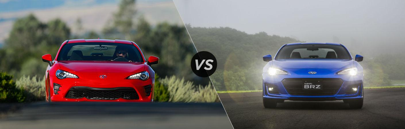 Toyota 86 VS Subaru BRZ