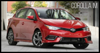Toyota Corolla iM model