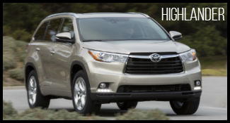 Toyota Highlander model