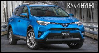 Toyota RAV4 Hybrid model