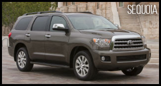 Toyota Sequoia model