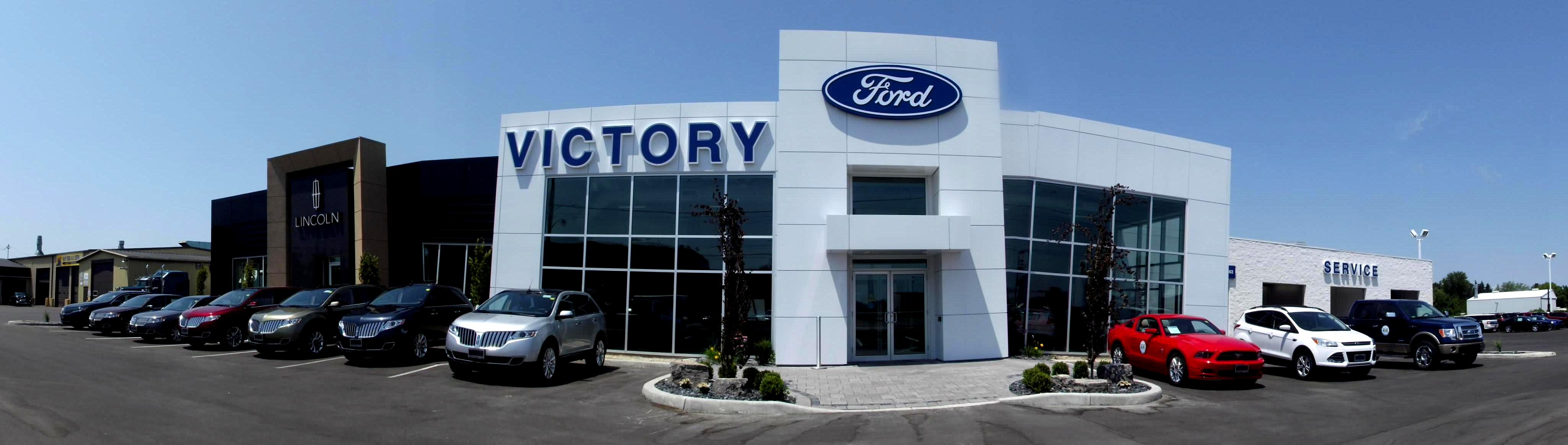 Victory Ford dealership building