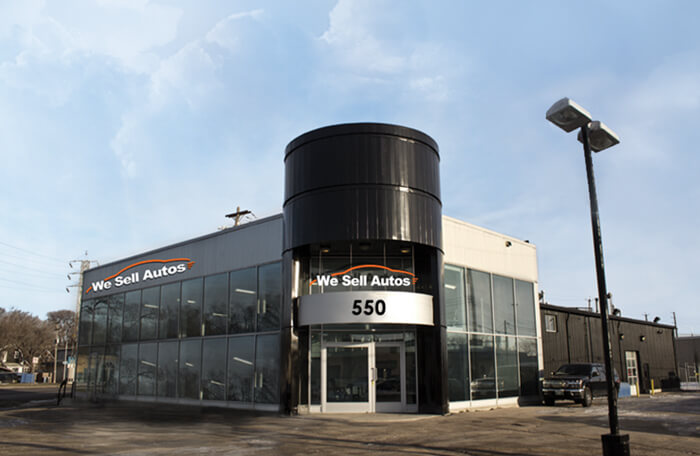 We Sell Autos dealership building