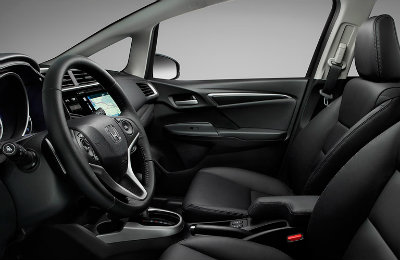 2017 Honda Fit interior technology features