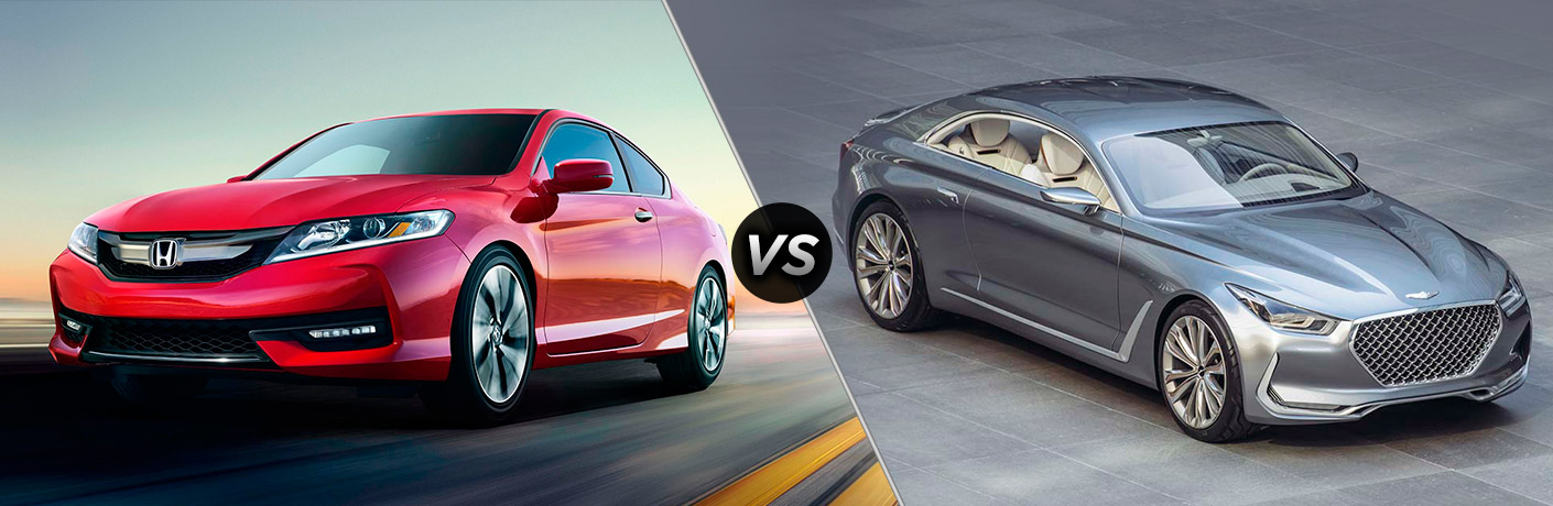 2016 Honda Accord Coupe vs 2016 Hyundai Genesis Coupe