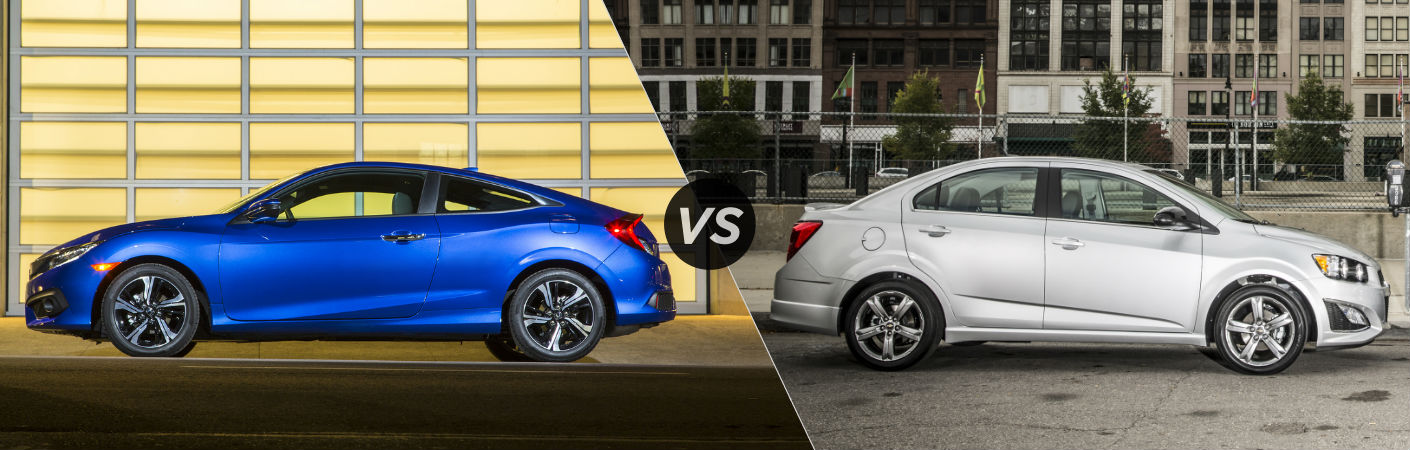 2016 Honda Civic Coupe vs 2016 Chevy Sonic