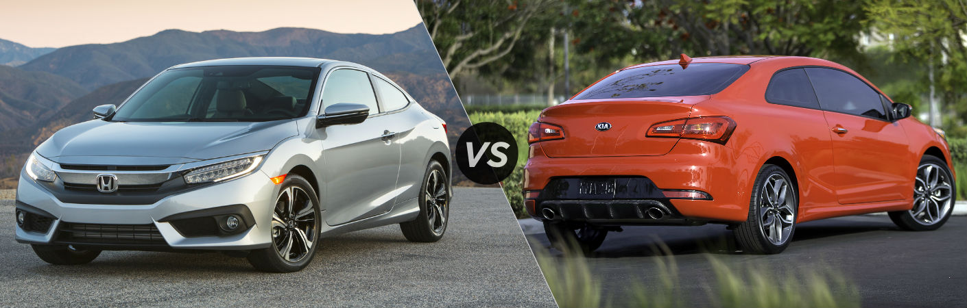 2016 Honda Civic Coupe vs 2016 Kia Forte Koup