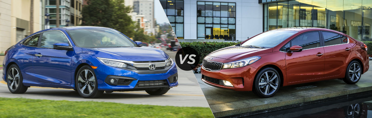2016 Honda Civic vs 2016 Kia Forte