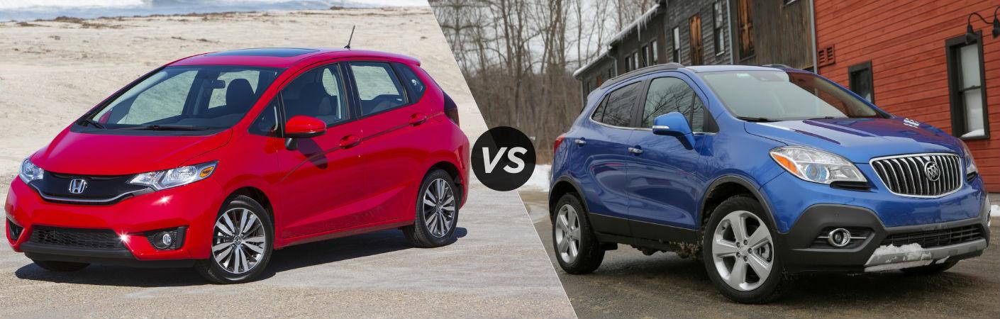 2016 Honda Fit vs 2016 Buick Encore