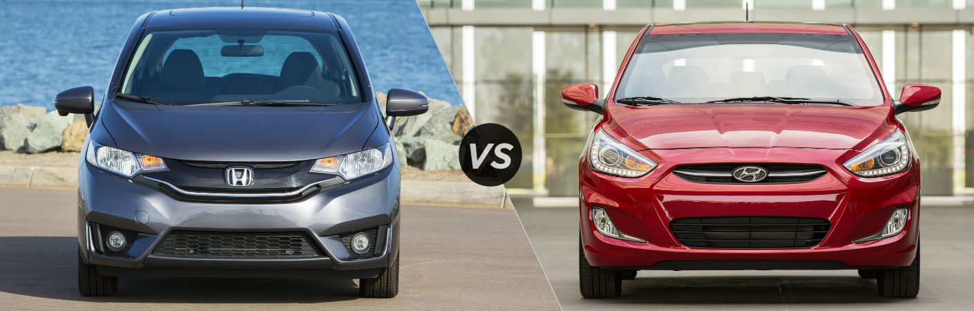 2016 Honda Fit vs 2016 Hyundai Accent