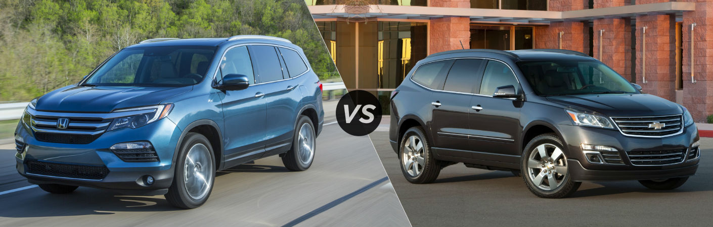 2016 Honda Pilot vs 2016 Chevy Traverse