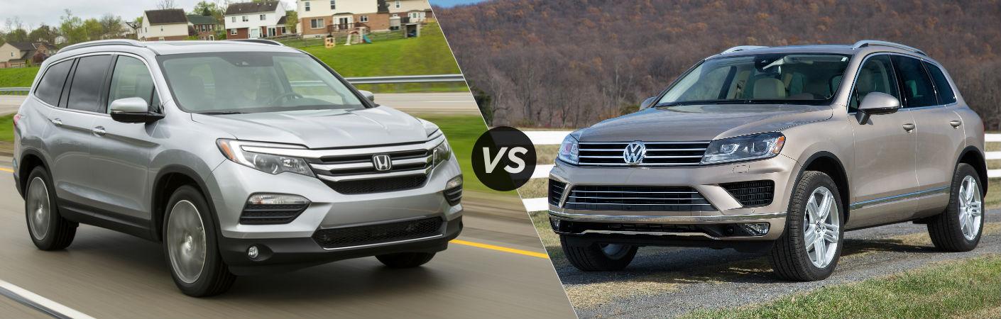 2016 Honda Pilot vs 2016 Volkswagen Touareg
