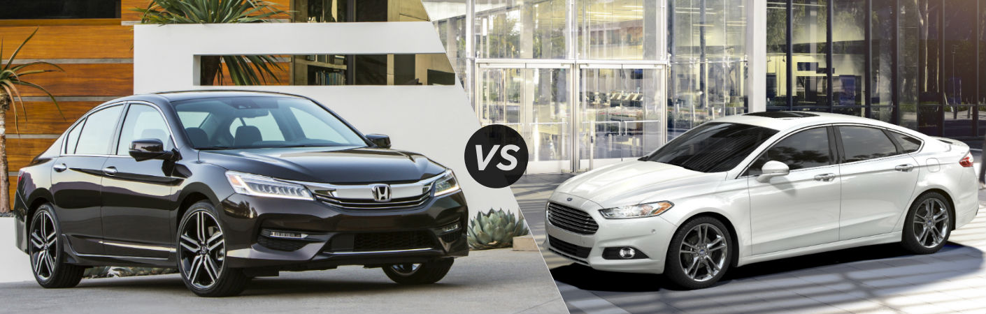 2016 Honda Accord vs 2016 Ford Fusion