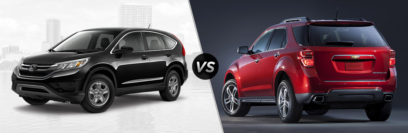 2016 Honda CR-V vs 2016 Chevy Equinox
