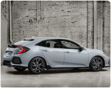 2017 Honda Civic Hatchback Edmonton AB