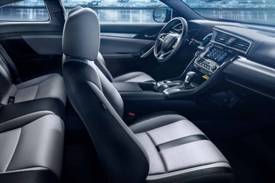 2017 Honda Civic interior technology and features
