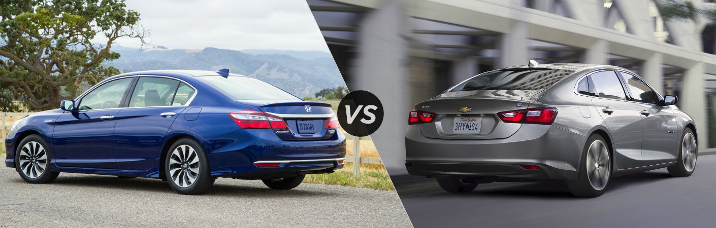2017 Honda Accord Hybrid vs 2017 Chevy Malibu Hybrid