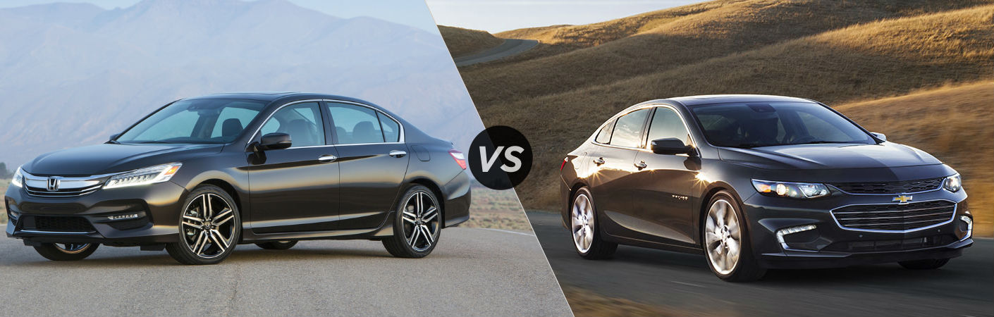 2017 Honda Accord vs 2017 Chevy Malibu