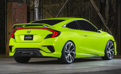 10th Generation Honda Civic Concept Canada Green