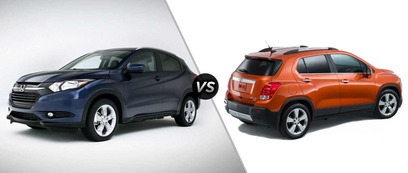 2016-honda-HR-V-vs-2015-chevy-trax