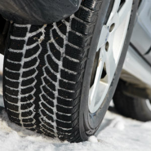 bigstock-Car-with-winter-tyres-installe-61502816