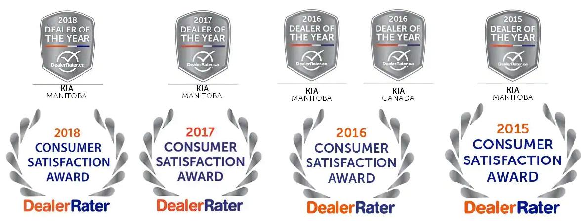 Dealer Rater award winner